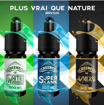 Plus vrai que nature, GREENEO CBD